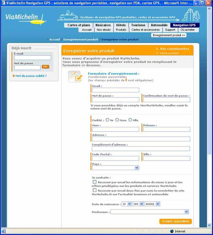 le code dactivation de internet  manager