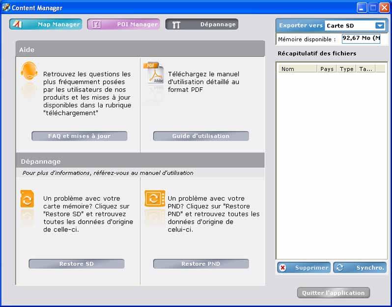 content manager viamichelin x960